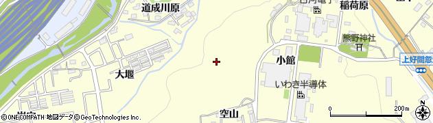 福島県いわき市好間町上好間(石田)周辺の地図