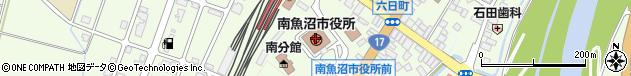 新潟県南魚沼市周辺の地図