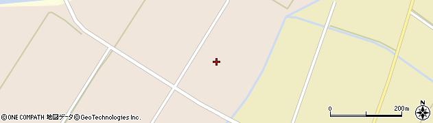 福島県白河市表郷番沢(落合)周辺の地図