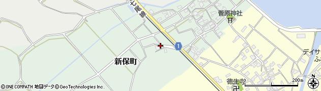 石川県七尾市新保町(タ)周辺の地図