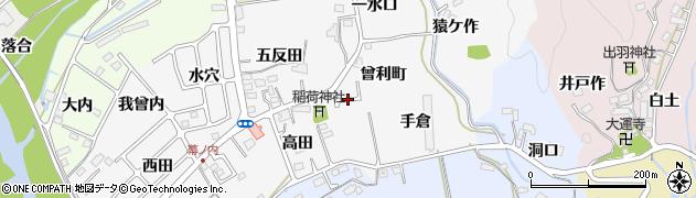 福島県いわき市平幕ノ内(曾利町)周辺の地図