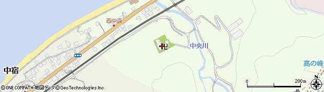 禅雄寺周辺の地図