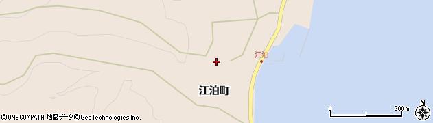 石川県七尾市江泊町(ラ)周辺の地図