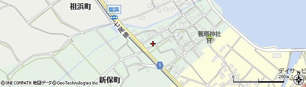 石川県七尾市新保町(レ)周辺の地図