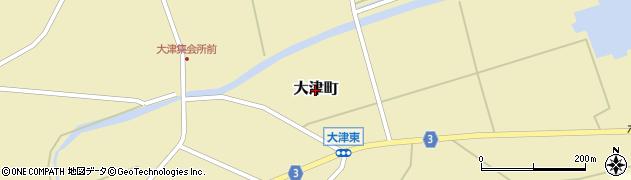 石川県七尾市大津町周辺の地図