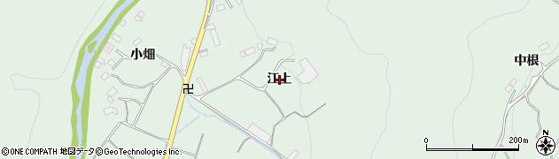 福島県いわき市好間町榊小屋(江上)周辺の地図