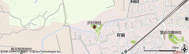 沢村神社周辺の地図