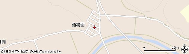 福島県白河市表郷番沢道場面周辺の地図