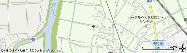 新潟県上越市石沢周辺の地図