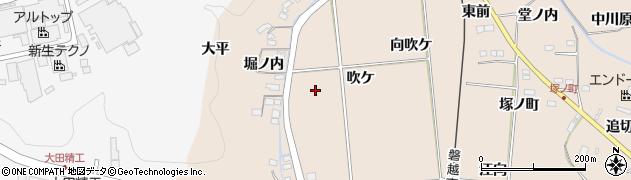 福島県いわき市好間町愛谷(吹ケ)周辺の地図