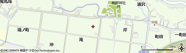 福島県いわき市平中塩周辺の地図