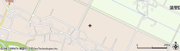 新潟県上越市清里区今曽根周辺の地図