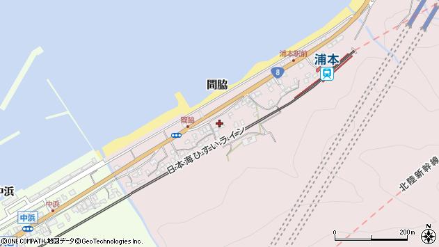 〒941-0001 新潟県糸魚川市間脇の地図