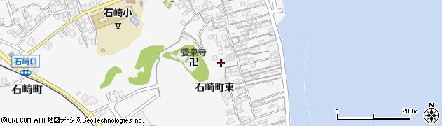 石川県七尾市石崎町(東)周辺の地図
