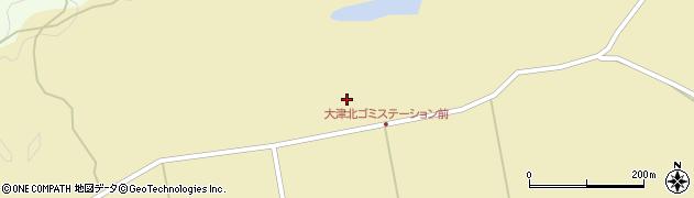 石川県七尾市大津町(ヘ)周辺の地図