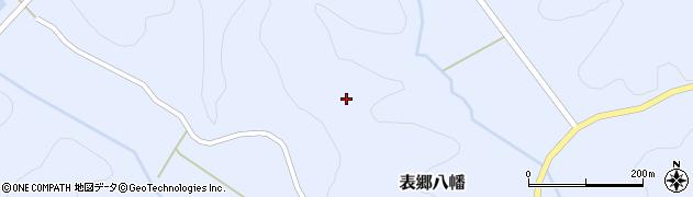 福島県白河市表郷八幡前山周辺の地図