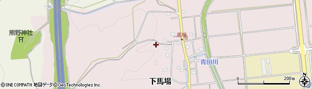 新潟県上越市下馬場周辺の地図