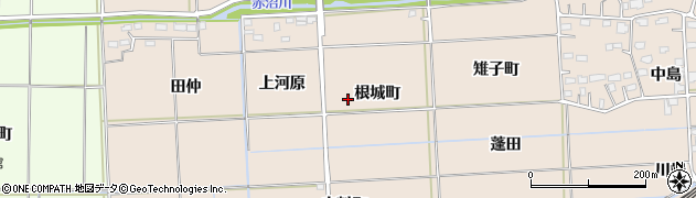 福島県いわき市平泉崎(根城町)周辺の地図