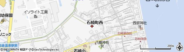 石川県七尾市石崎町(ツ)周辺の地図
