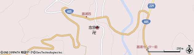 念宗寺周辺の地図