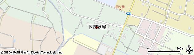 新潟県上越市下四ツ屋周辺の地図