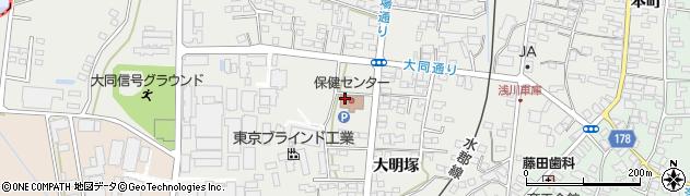 浅川町役場 地域包括支援センター周辺の地図