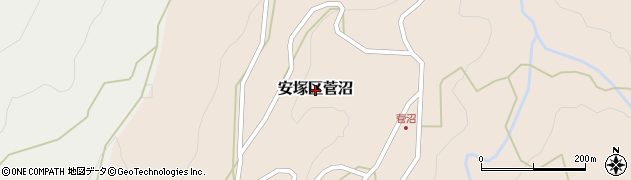 新潟県上越市安塚区菅沼周辺の地図