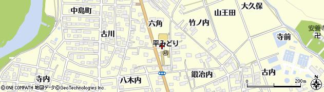 株式会社JAいわき市燃料サービス 平窪給油所周辺の地図