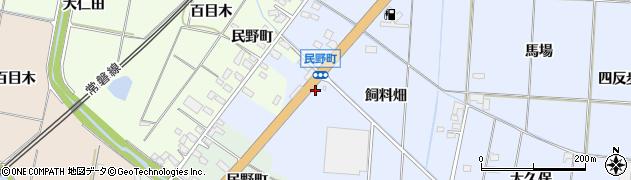 福島県いわき市四倉町細谷(荒町)周辺の地図