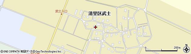 妙土寺周辺の地図