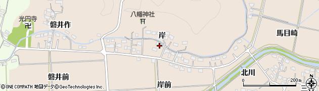 福島県いわき市平泉崎(岸)周辺の地図