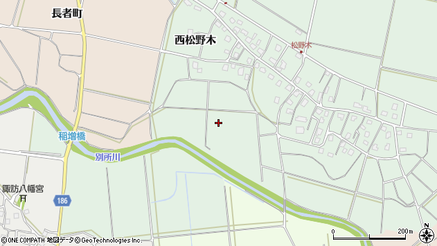 〒943-0136 新潟県上越市西松野木の地図