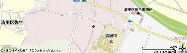 新潟県上越市清里区岡野町周辺の地図