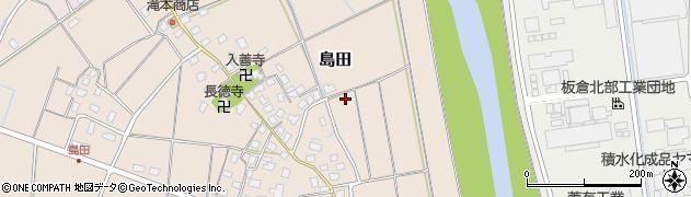新潟県上越市島田周辺の地図
