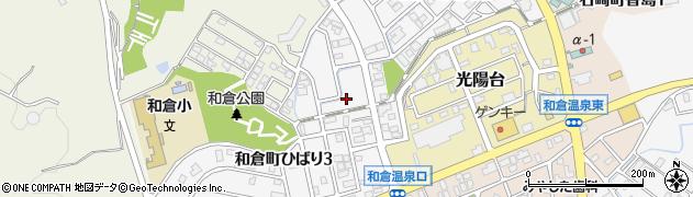 石川県七尾市和倉町ひばり周辺の地図