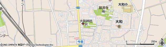 新潟県上越市大和周辺の地図