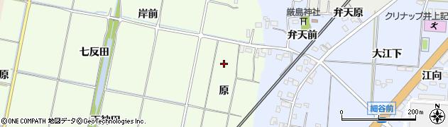 福島県いわき市四倉町大森(原)周辺の地図