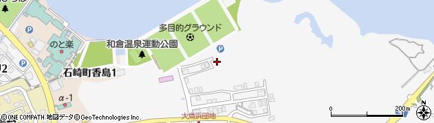石川県七尾市石崎町(チ)周辺の地図