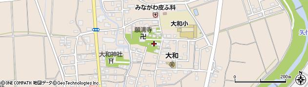仏性寺周辺の地図