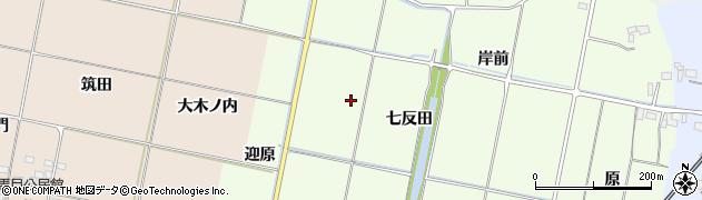 福島県いわき市四倉町大森(七反田)周辺の地図