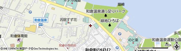 石川県七尾市和倉町(ニ)周辺の地図