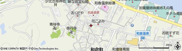 石川県七尾市和倉町(カ)周辺の地図