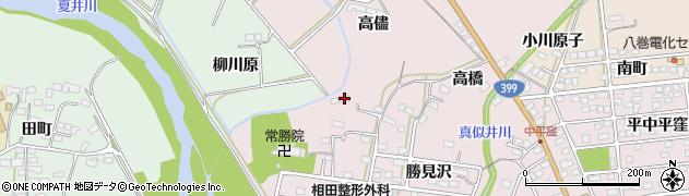 福島県いわき市平中平窪(岩間)周辺の地図