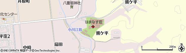 福島県いわき市平中平窪(二堂田)周辺の地図