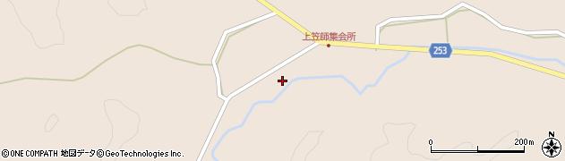 石川県七尾市中島町笠師(上)周辺の地図