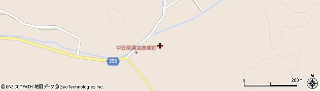 石川県七尾市中島町笠師(子)周辺の地図