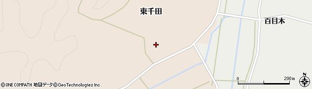 福島県白河市東千田(明神前)周辺の地図