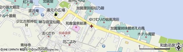 石川県七尾市和倉町(ヲ)周辺の地図