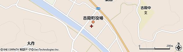 福島県石川郡古殿町周辺の地図