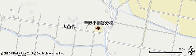 福島県いわき市平絹谷(四反田)周辺の地図